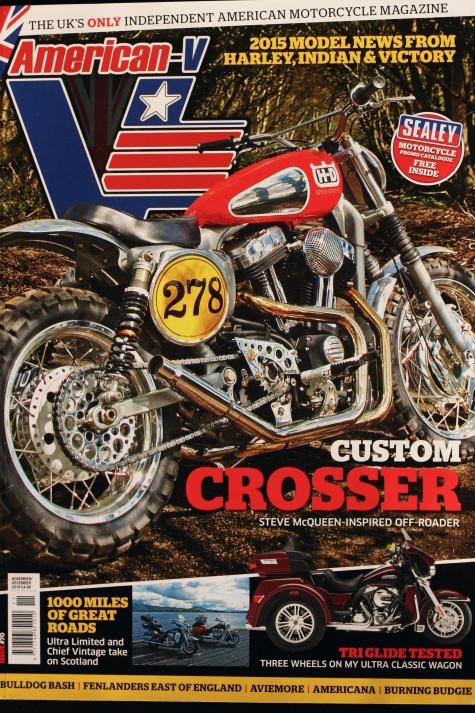 American V cover